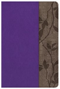 NKJV Holman Study Bible Personal Size Purple Indexed