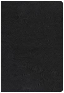 CSB Super Giant Print Reference Bible Black
