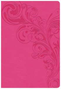 CSB Super Giant Print Reference Bible Pink