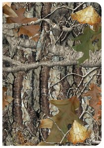 CSB Sportsmans Bible Large Print Compact Edition Mothwing Camouflage Leathertouch