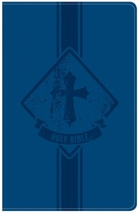 KJV Kids Bible Royal Blue Leathertouch