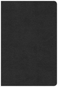 CSB Pastors Bible Black Black Letter