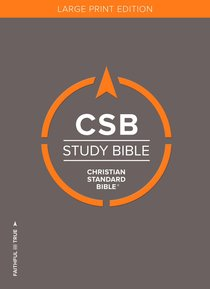 CSB Study Bible Large Print