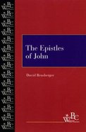 The Epistles of John (Westminster Bible Companion Series) Paperback