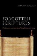 Forgotten Scriptures Paperback