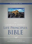 NIV the Charles F. Stanley Life Principles Bible (Red Letter Edition) Hardback