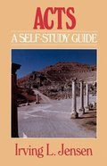 Acts- Jensen Bible Self Study Guide Paperback