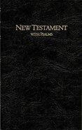 KJV Keystone Large Print New Testament With Psalms Black