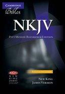 NKJV Pitt Minion Reference Black Genuine Leather