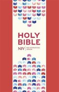 NIV Thinline Bible Coral Pink Soft-Tone With Zip
