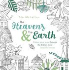 The Heavens and the Earth (Adult Colouring Book) Paperback