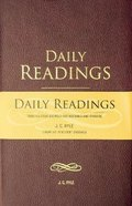 Daily Readings From All Four Gospels: For Morning and Evening Hardback
