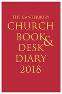 The Canterbury Church Book & Desk Diary 2018 Hardback