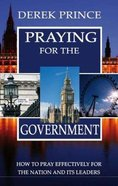 Praying For the Government