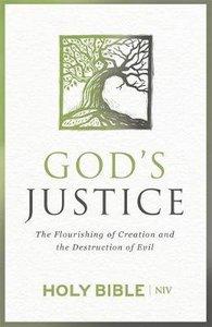 NIV Gods Justice Bible