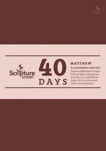 40 Days: Matthew (Prayer Journal)