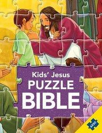 Kids Jesus Puzzle Bible (Six 30 Piece Puzzles) (Kids Puzzle Bibles Series)