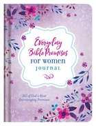 Everyday Bible Promises For Women (Journal) Hardback