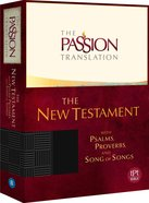 TPT New Testament Black (With Psalms Proverbs and Song of Songs) (The Passion Translation Series)