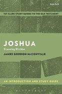Joshua An Introduction and Study Guide (T&t Clark Study Guides Series) Paperback