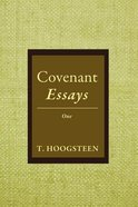 Covenant Essays: One Paperback