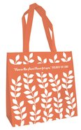 Tote Bag: I Know the Plans... (Orange) Soft Goods