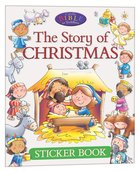 Sticker Book: The Story of Christmas Paperback