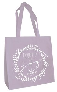 Tote Bag: Count It All Joy (Light Purple)