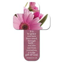 Bookmark Cross-Shaped: It is By Grace You Have Been Saved.... Ephesians 2:8