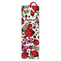 3d Bookmark: Laedee Bugg - Rejoice!