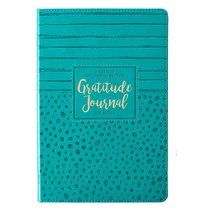 Journal: Gratitude For Moms, Blue Luxleather