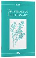 2018 Australian Lectionary An Australian Prayer Book (Year B) Paperback