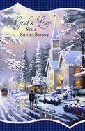 Christmas Boxed Cards: Thomas Kinkade God's Love (John 10:10 Kjv) Cards