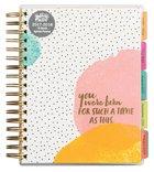 2018 Planner: Illustrated Faith Agenda Planner 18-Month Planner (Gold Foil)