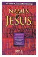 Names of Jesus (Rose Guide Series) Pamphlet