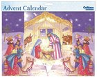 3d Fold Out Advent Calendar: Manger Scene