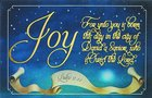 Christmas Pass-Around Cards: Unto You is Born (Pk 25) (Luke 2:11)