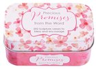 Sing For Joy Cards in Tin: Precious Promises (Pale Orange/floral)