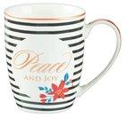 Ceramic Mug: Peace and Joy