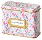 Prayer Cards in Tin Box: Prayer Changes Things, Floral Box