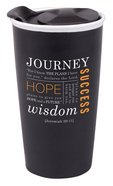 Ceramic Tumbler Mug: Journey, Black (Jer 29:11) Homeware