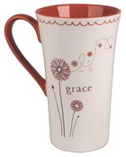 Ceramic Mug: Grace, May God Give You More and More Grace and Peace as You Grow in Your Knowledge of God and Jesus Our Lord