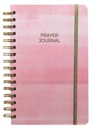 Prayer Journal: One Year Weekly Layout (Pink Wash Design) Spiral
