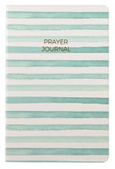 Prayer Journal: 6 Month Weekly Layout (Aqua Stripe) Paperback