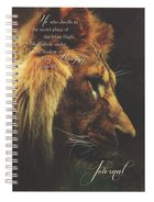 Spiral Hardcover Journal: He Who Dwells in the Secret Place, Psalm 91:1