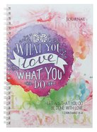 Softcover Journal: Do What You Love, 1 Corinthians 16:14