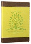 Leather Lux Journal: True Vine, John 15:4
