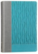 NIV Faithlife Study Bible Gray Blue Imitation Leather