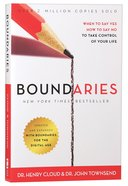 Boundaries: When to Say Yes, How to Say No to Take Control of Your Life Paperback