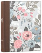 NKJV Beautiful Word Bible Floral (Red Letter Edition) Hardback